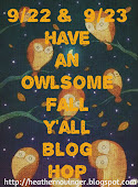 My Fall owl hop was so successful!! Thank you to all of my friends!