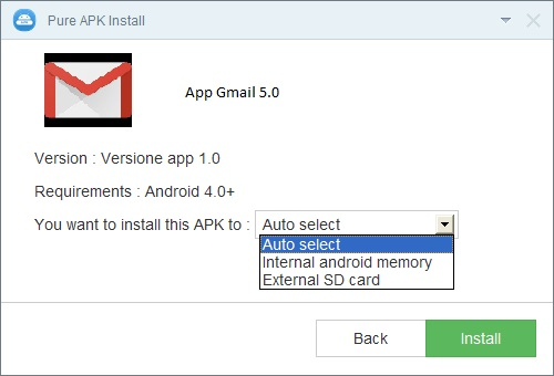install apk from pc software