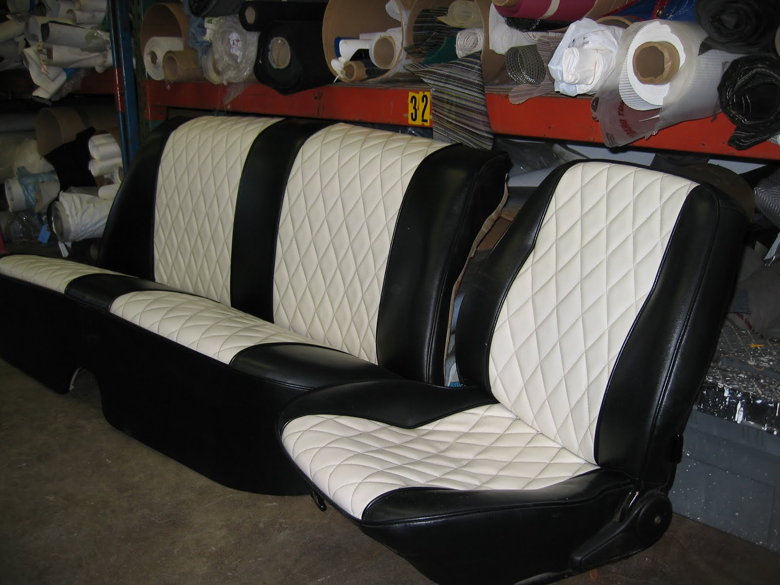 Homestyle custom upholstery and awning car seats for Custom automotive interior designs