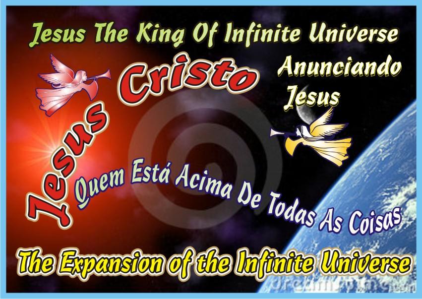 Jesus The King Of Infinite Universe