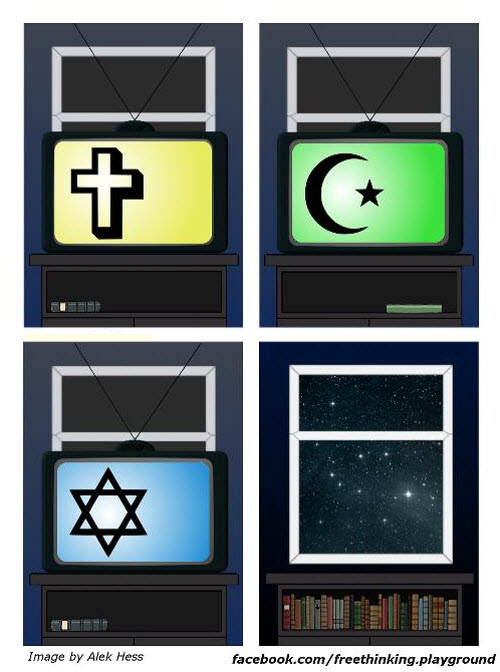 Religión: Que es mejor un libro o muchos libros?
