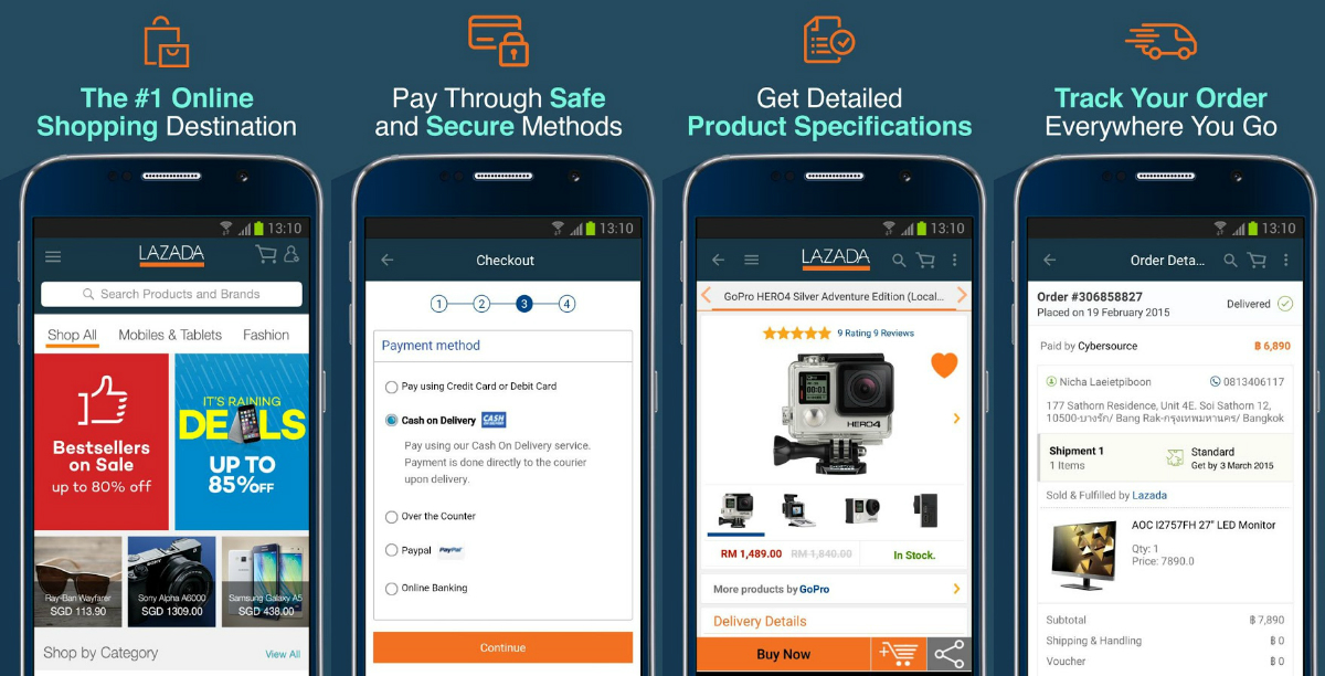 10 Alasan Mengapa Kamu Wajib Belanja Online di Lazada via Aplikasi