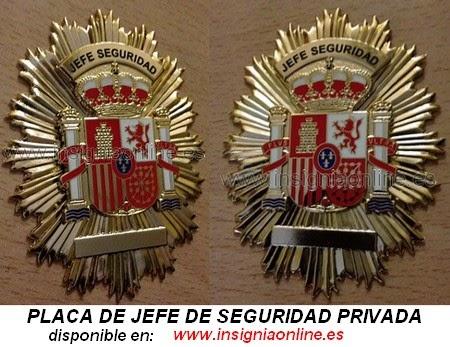 jefe seguridad privada: