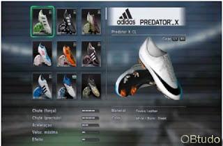 As melhores chuteiras PES 2012, Melhorando os seus jogadores