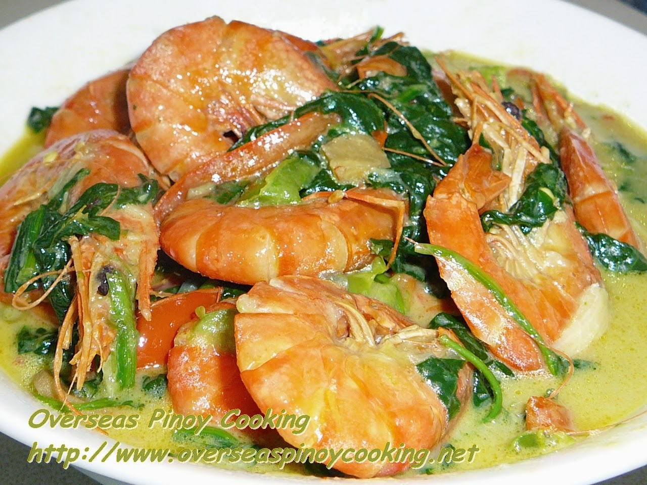 Pinoy Prawn Curry
