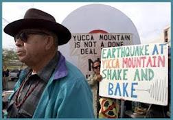 Western Shoshone respond to Nucelar Waste Storage