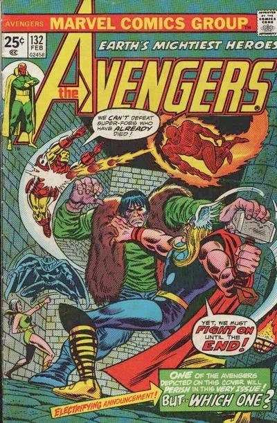 Avengers #132