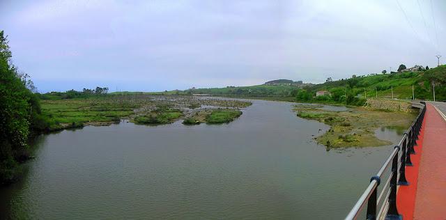 Ria Capitan en Parque Natural de Oyambre