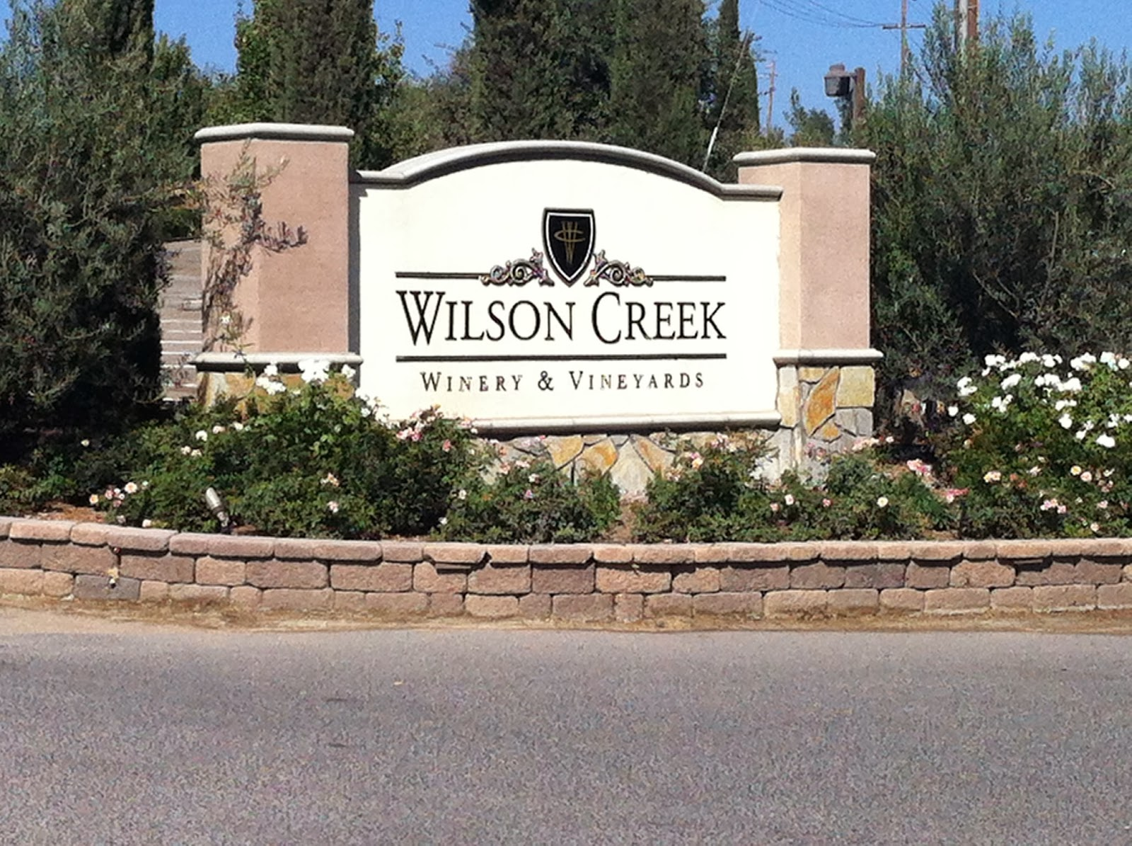 Adventures of a semper fi family wilson creek winery for Wilson creek