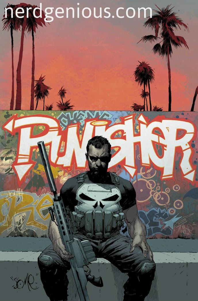 Nathan Edmondson Mitch Gerads Punisher 2014 I Skull LA