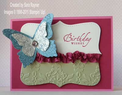 Cardstock Rose Red Regal Rose River Rock Baja Breeze Very Vanilla