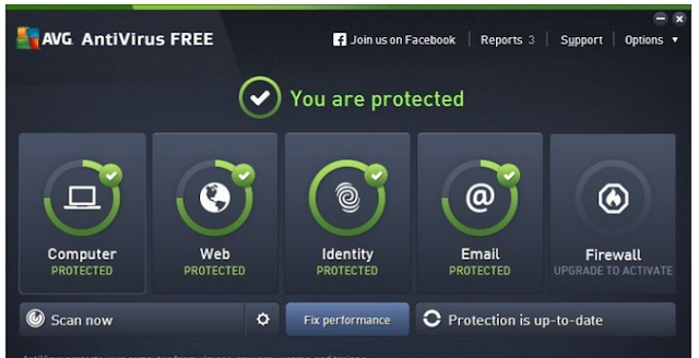 AVG AntiVirus Free 2016 16.41.7441 Full Version