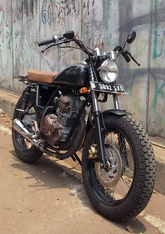 Retro: Modifikasi Yamaha Scorpio Japstyle