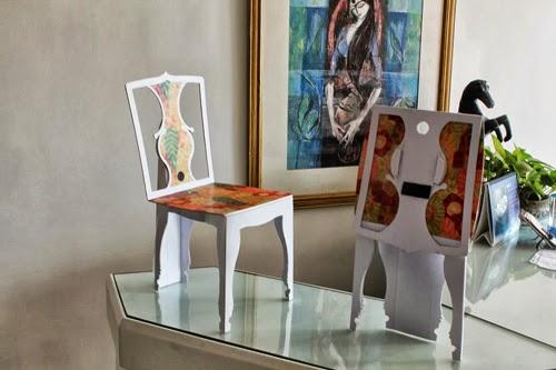 Furniture designer Lalit Hira at India pavilion, LDF13