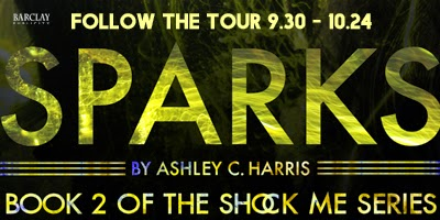 SPARKS Blog Tour & Giveaway