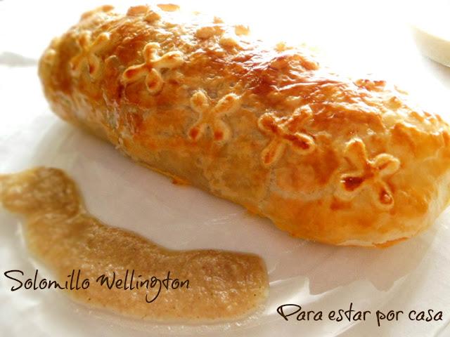 Solomillo Wellington Con Salsa De Champiñones