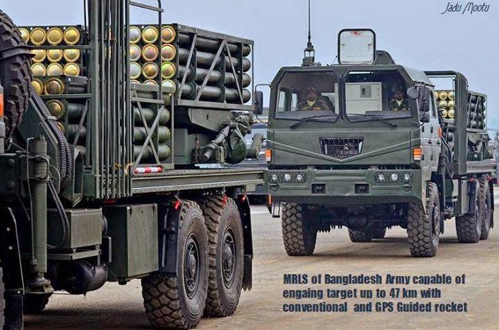 Bangladesh Army WS-22 MLRS