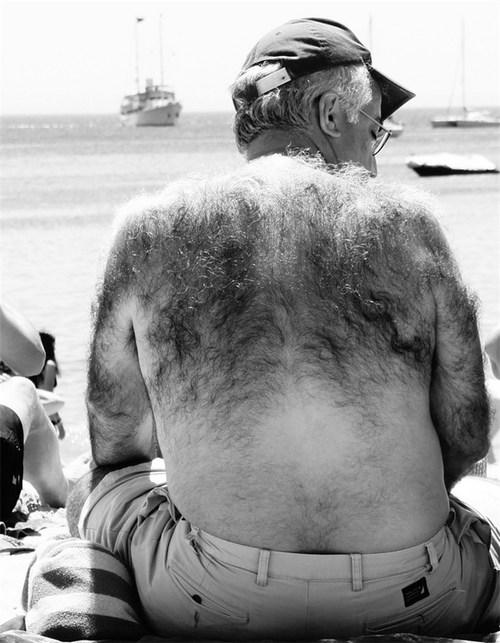 hirsute body | very hairy oldermen