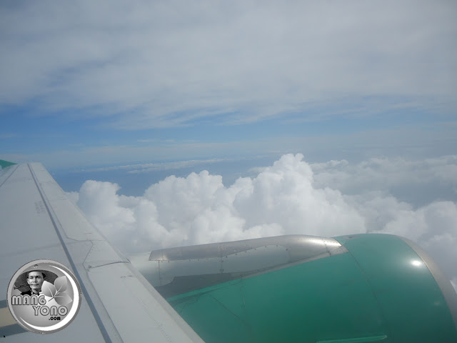 Diatas awan, terbang bersama Citilink Air