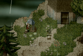 A screenshot showing off the classic 2D art style of the game.