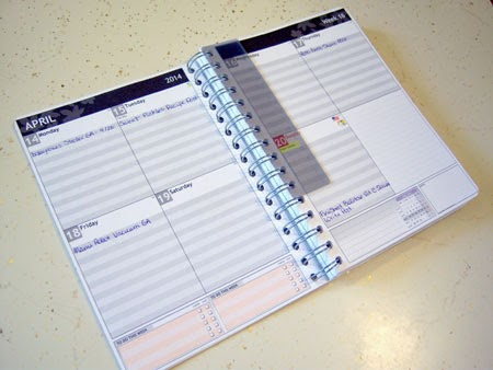 Customized Planner from personal-planner.com Review & Giveaway