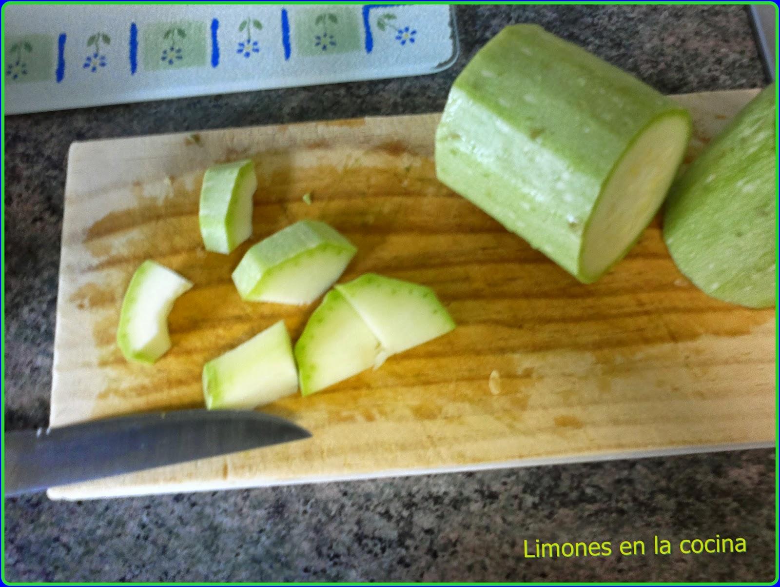 Limones en la cocina calabac n con at n y beicon al microondas - Bizcocho microondas isasaweis ...