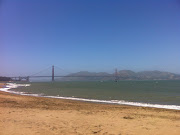 Not that far like Ocean Beach but the view is great.