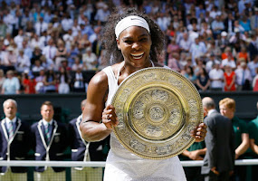 SERENA WILIAMS WINS 6TH WIMBLEDON !!!