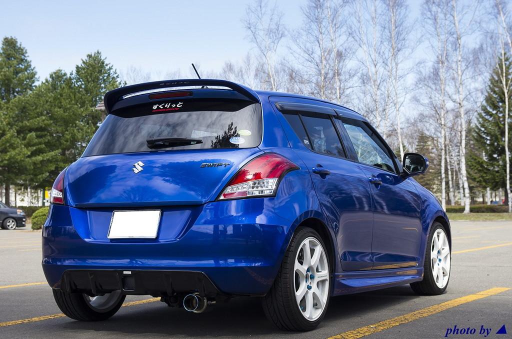 Suzuki Swift IV スズキ, 日本車