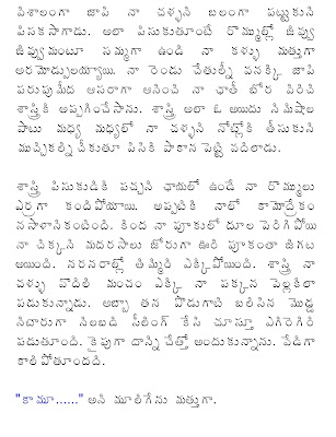 Vadina Maridi Dengudu Srungaram Story Part 2