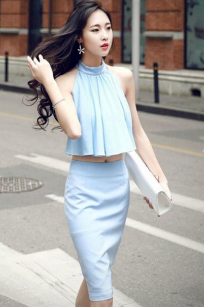 Model Baju Korea terbaru 2016 yang Stylish dan Cantik