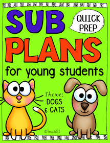 K/1 Sub Plans