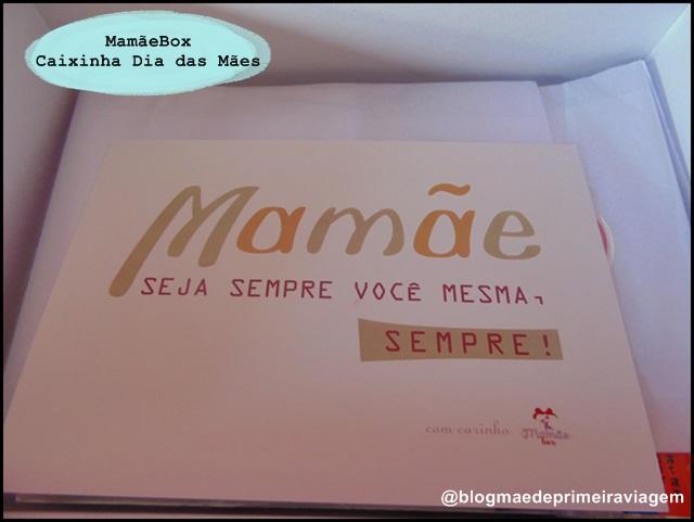 {MamãeBox}Caixinha de Maio - Caixinha Dia das Mães