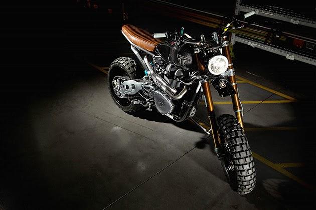 Triumph TFC2 Scrambler Custom