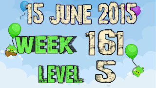 Angry Birds Friends Tournament level 5 Week 161