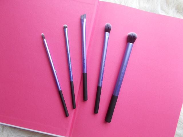 makeup brush collection real techniques start kit eyes
