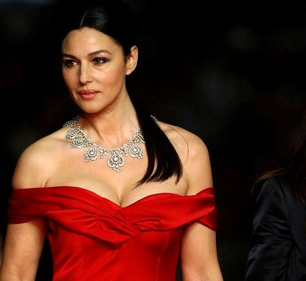 Monica Bellucci in Red Dress