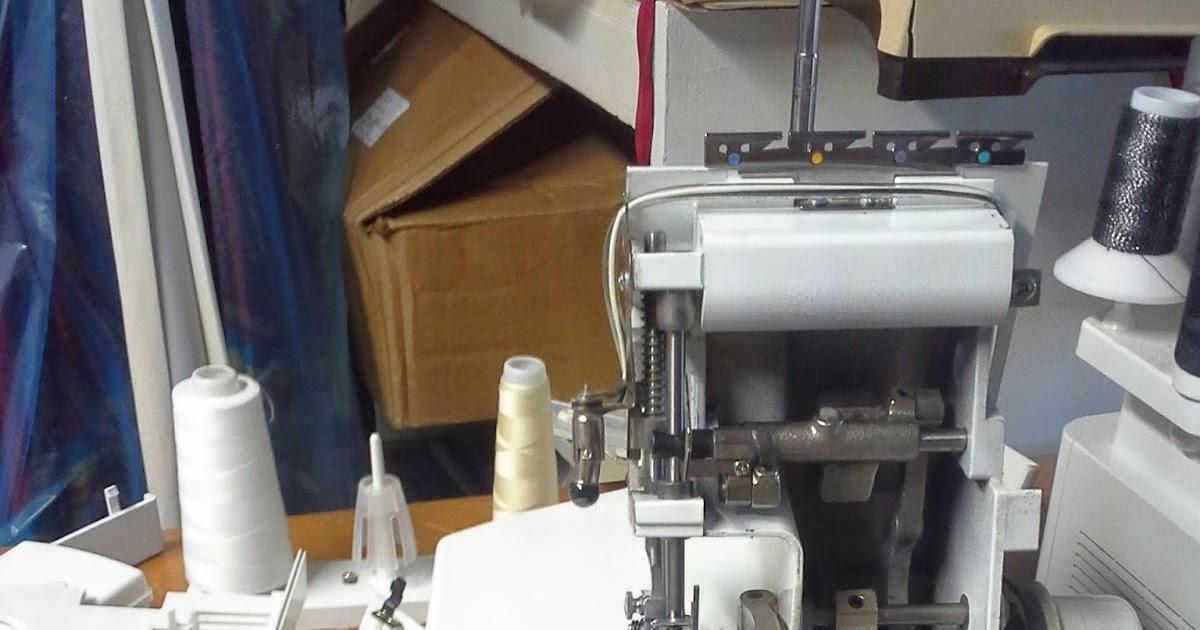 Syntryz Stitches  Cleaning A White Speedylock 1600 Serger