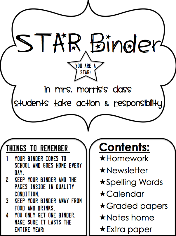 Simply 2nd Resources Update On Star Binders