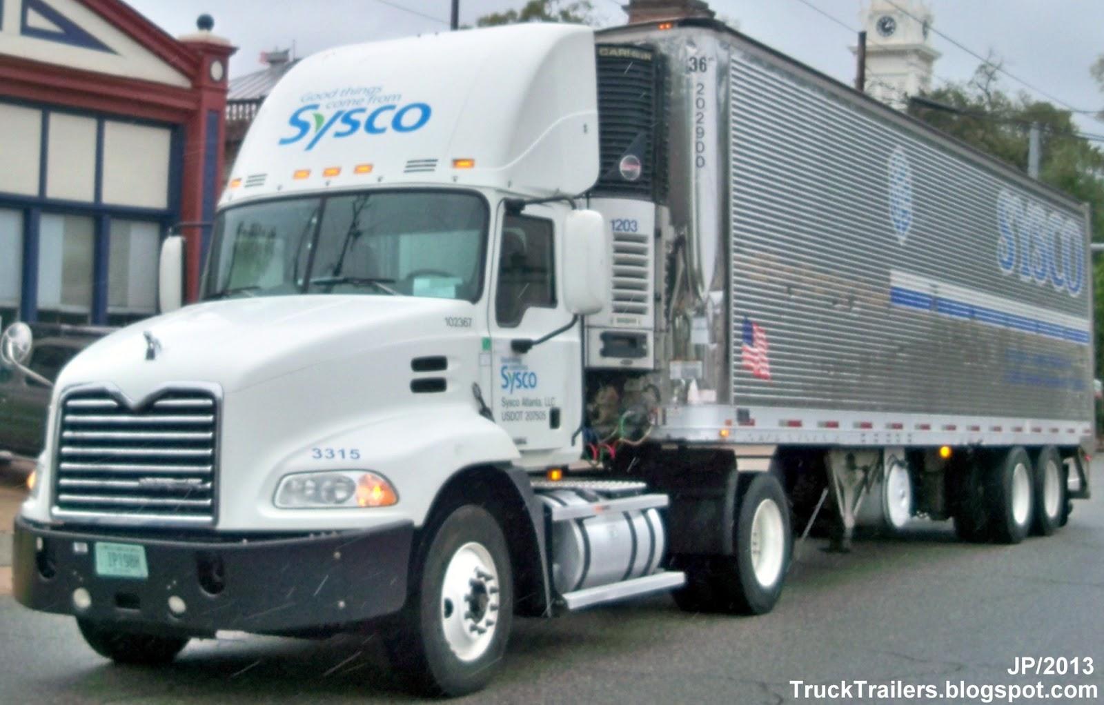 TRUCK TRAILER Transport Express Freight Logistic sel Mack ...