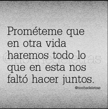 Prométeme...
