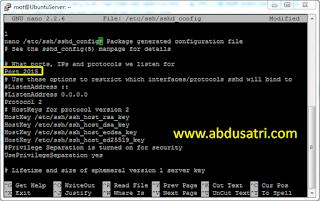 cara amankan VPS ubuntu dengan ganti port