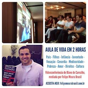 Lançamento oficial em São Paulo - clique e assista à videoconferência completa