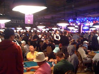 Bubble time at the 2011 WSOP Main Event