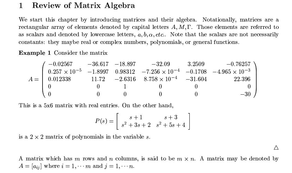 course in linear algebra pdf