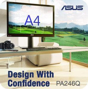 new Asus PA246Q