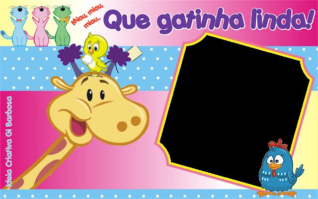 Máscara Digital Galinha Pintadinha