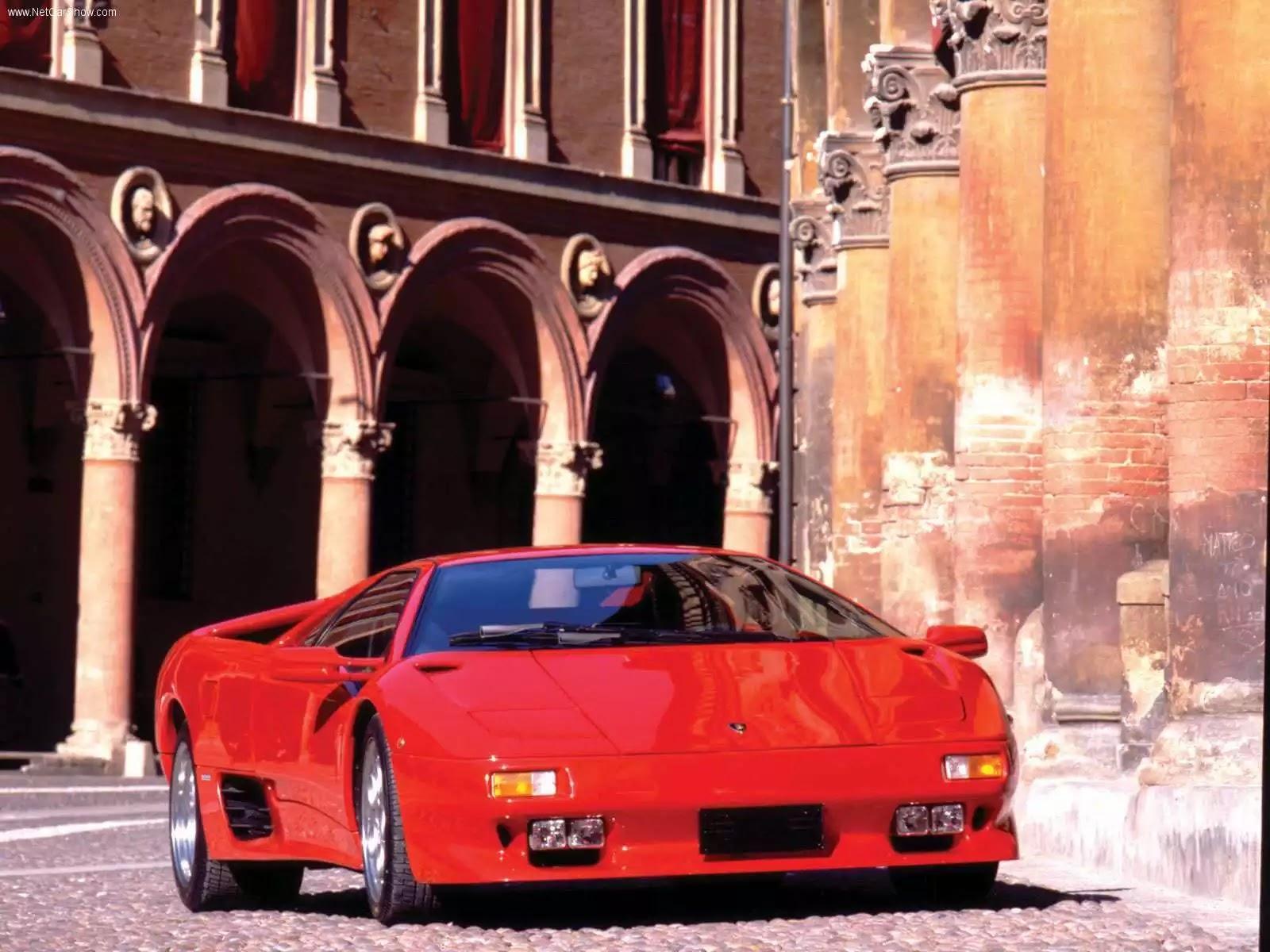 Hình ảnh siêu xe Lamborghini Diablo VT 1993 & nội ngoại thất