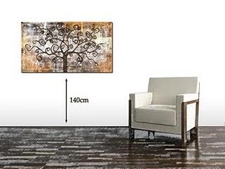 Come appendere i quadri - Altezza quadri sopra divano ...