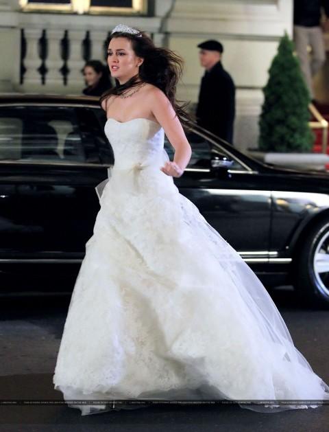 Blair Hochzeitskleid Gossip Girl